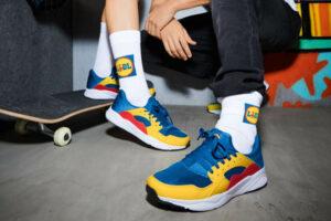 Marketing delle scarpe Lidl
